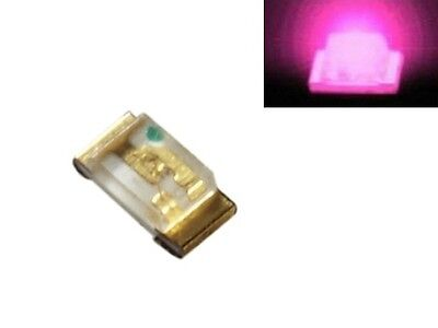 S910 - 50 pcs SMD LED 0603 Pink LEDs