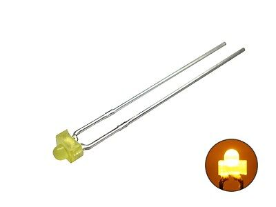 S178 - 20 Piece Miniature Mini LEDs 1,8Mm Yellow Diffusion LED Yellow