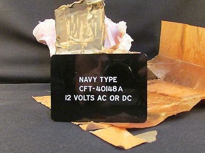 NOS CFT40148A Federal Telephone Radio Navy Type Crystal Oven w Box