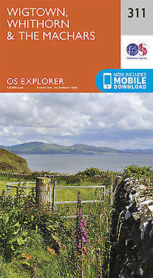Wigtown Whithorn and the Machars Explorer Map 311  Ordnance Survey