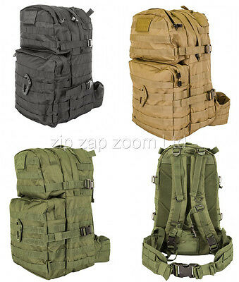 Army Combat Military Rucksack Back Pack Molle 40L 40 Litre Day Backpack Surplus