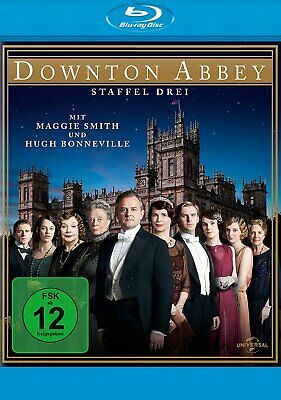 Downton Abbey - Season/Staffel 3 # 4-BLU-RAY-BOX-NEU