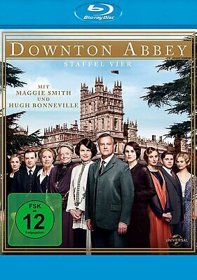 Downton Abbey - Season/Staffel 4 # 3-BLU-RAY-BOX-NEU