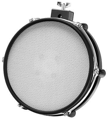 "10"" Mesh Pad Mesh Head E-Drum Pad Dual Zone Pad Gewebe Fell Rim Shot Funktion"