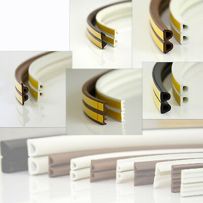 D E V P SELF-ADHESIVE SEAL windows doors draught excluder heat loss reducer EPDM