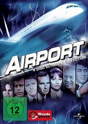 Airport 1+2+3+4 - Ultimate Collection # 4-DVD-BOX-NEU (Airport +1975+1977+80)