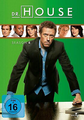 Dr. House - Die komplette Season/Staffel 4 # 4-DVD-BOX-NEU