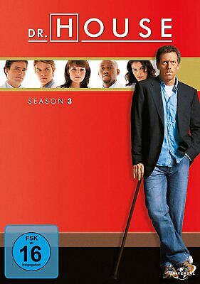 Dr. House - Die komplette Season/Staffel 3 # 6-DVD-BOX-NEU
