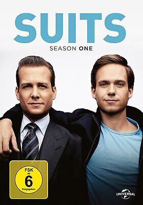 Suits - Die komplette Season/Staffel 1 # 3-DVD-BOX-NEU