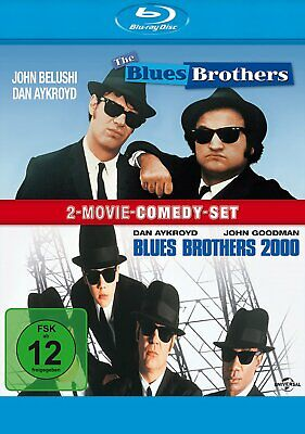 The Blues Brothers 1+2 - (Dan Aykroyd) - 2-BLU-RAY-NEU