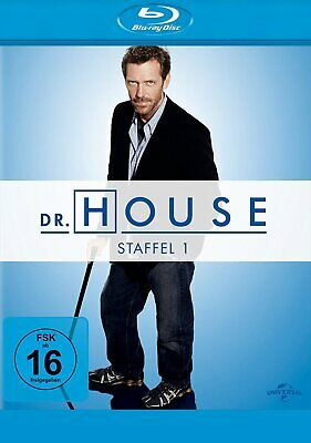 Dr. House - Season/Staffel 1 # 5-DISC-BLU-RAY-BOX-NEU