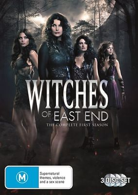 WITCHES OF EAST END The complete First Season one DVD R4 New Sealed