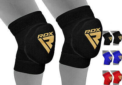 RDX MMA Knee Pads Caps Protector Brace Support volleyball Guards Muay Thai