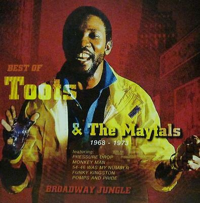 Toots & The Maytals(CD Album)The Best Of-Trojan-CDTRL 438-UK-2001-New