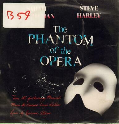 "Sarah Brightman(7"" Vinyl P/S)The Phantom Of The Opera-Polydor-POSP 800-VG/Ex"