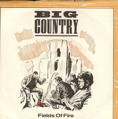 "Big Country(7"" Vinyl P/S)Fields Of Fire-Mercury-COUNT 2-UK-VG/VG"