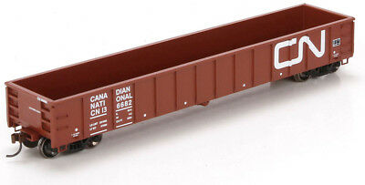 Athearn HO Scale 52' Mill Gondola Freight Car Canadian National/CN #136682