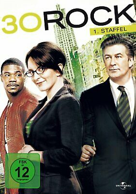 30 Rock - Die komplette Season/Staffel 1 # 3-DVD-BOX-NEU