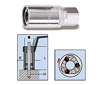 """Beta Tools 1433 Roller Stud Extractor 1/2"""" Square Drive 8 M 1/2 Female Drive"""