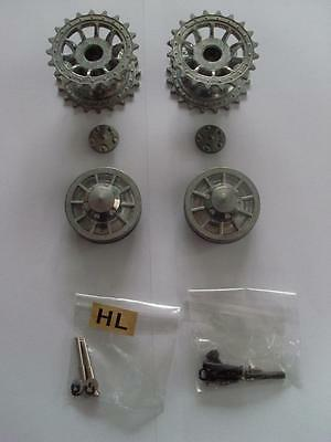 Taigen Tiger I Metal Sprockets & Idlers 1:16 RC Tank Early Version fit Heng Long