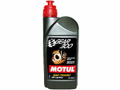 (1L=1.05 Qt) Motul Gear 300 75W90 100% Synthetic Transmission Lubricants Oil