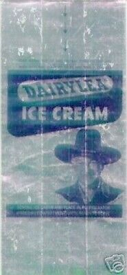 Hopalong Cassidy Dairylea Ice Cream Foil Bag, 1950 Western Character Collectible