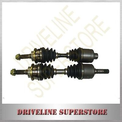 A Set Of Two Front Cv Joint Shafts For Mazda Bravo Un B2600 B2500 2003-2006