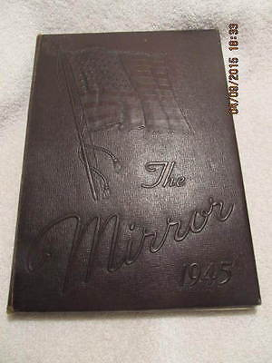 1945 Yearbook Lima Central High School Ohio Great Vintage Photos With No Writing