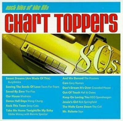 Various Artists : Chart Toppers: Rock Hits of the 80s CD
