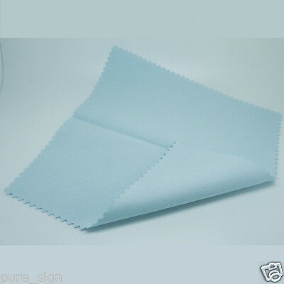 Large Size 175mm Square Silver Polishing Cloth Jewelry Cleaner Anti-Tarnish X 1