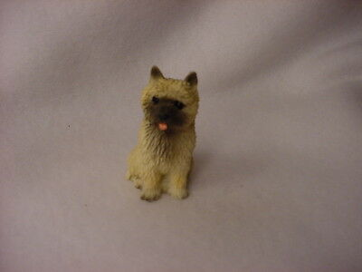 CAIRN TERRIER red puppy TiNY FIGURINE Dog MINIATURE Mini STATUE collectible NEW