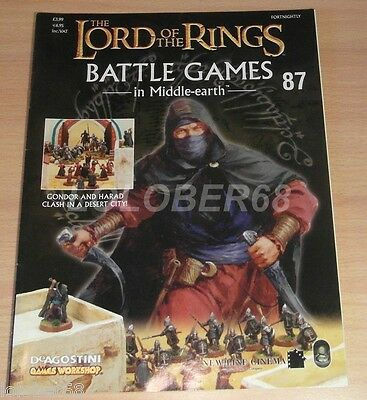 LORD OF THE RINGS Battle Games in Middle-earth Magazine Issue 87