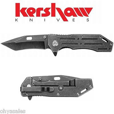 Kershaw Knives - Lifter - Blackwash Stainless Handle Knife Blackwash - 1302BW