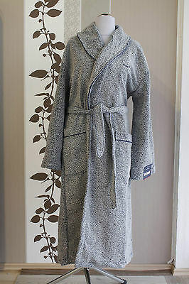 Tom Tailor Vitality Bathrobe 908 navy S Bademantel Morgenmantel