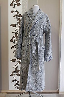 Tom Tailor Vitality Bathrobe 908 navy M Bademantel Morgenmantel