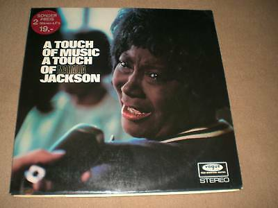 "Mahalia Jackson (2Lp) -  ""a Touch Of Music"" [Ger / 1969 / Stereo / Vogue]"