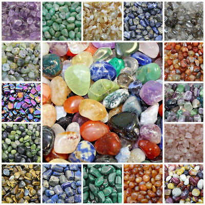 Tumbled Stones: You Choose the Type  (Tumble Stone Reiki Crystal Healing)