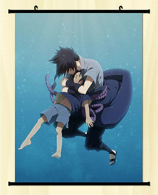 Home Decor Japanese Wall poster Scroll Naruto SHIPPUDEN Sasuke Uchiha Anime