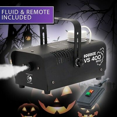 Equinox VS400 MKII Smoke Machine Fog Effect Halloween DJ Disco Party FREE FLUID