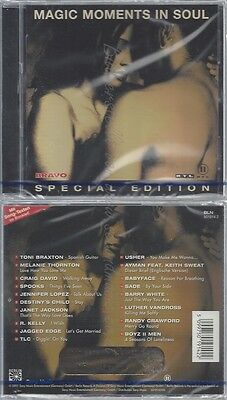 Cd--Nm-Sealed-Various -2001- -- Kuschelrock - Magic Moments In Soul
