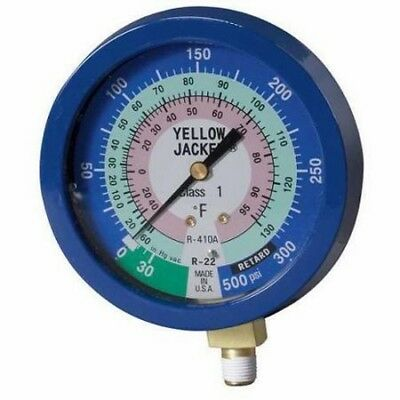 Yellow Jacket 49516 3-1/2 Liquid Filled Pressure R22/R410A