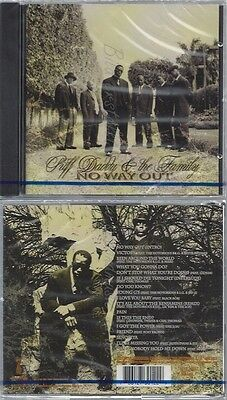 Cd--Nm-Sealed-Puff Daddy Und Puff Daddy & The Family -2004- -- No Way Out
