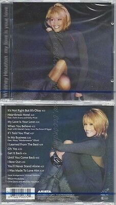 Cd--Nm-Sealed-Whitney Houston -1998- -- My Love Is Your Love