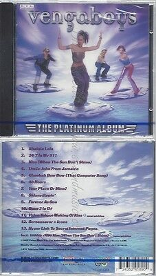 Cd--Nm-Sealed-Vengaboys-The Platinum Album