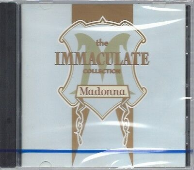 Cd--Nm-Sealed-Madonna --- Immaculate Collection