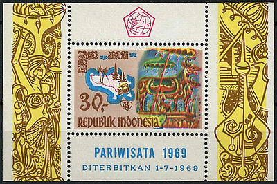 Indonesia 1969 SG#MS1237 Tourism In Ball MNH M/S #A93008