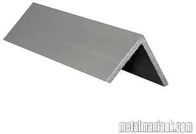 "Aluminium angle 1/2"",3/4"",25mm,1 1/2"",1 3/4"",50mm x 3mm wallx up to 10ft(3048mm)"