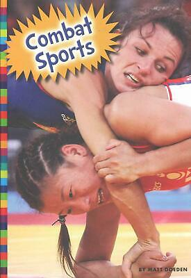 Combat Sports by Matt Doeden (English) Library Binding Book Free Shipping!