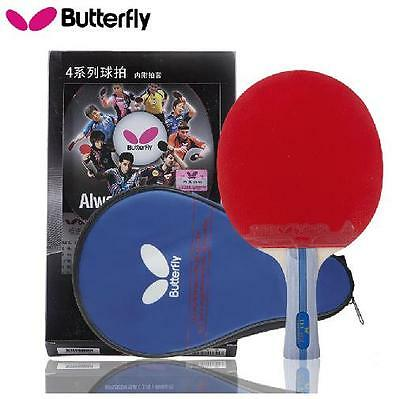 Japan BUTTERFLY 4 Star 402 Table Tennis Racket Shakehand Long Handle PING PONG !
