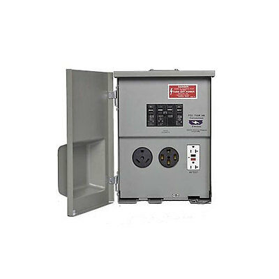 Connecticut Electric PSC-75-GR-HR 120/240V 80 Amp RV Panel with 50A, 20A, GCFI